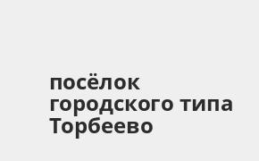 Справочная информация: Банкоматы Банка ВТБ в посёлке городского типа Торбеево — часы работы и адреса терминалов на карте